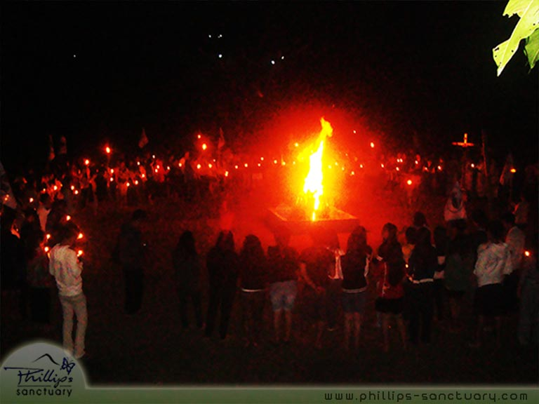 Youth Camp Bonfire Retreat Venue Manila Philippines