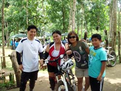 bike trail antipolo  phillip's sanctuary team building venue manila